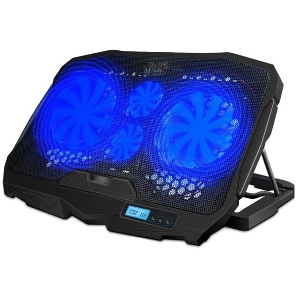 Free shipping Laptop Cooler 2 USB Ports and 4 Cooling Fans Laptop Cooling Air Pad Notebook Stand for 10 15.6 Inch Malaysia