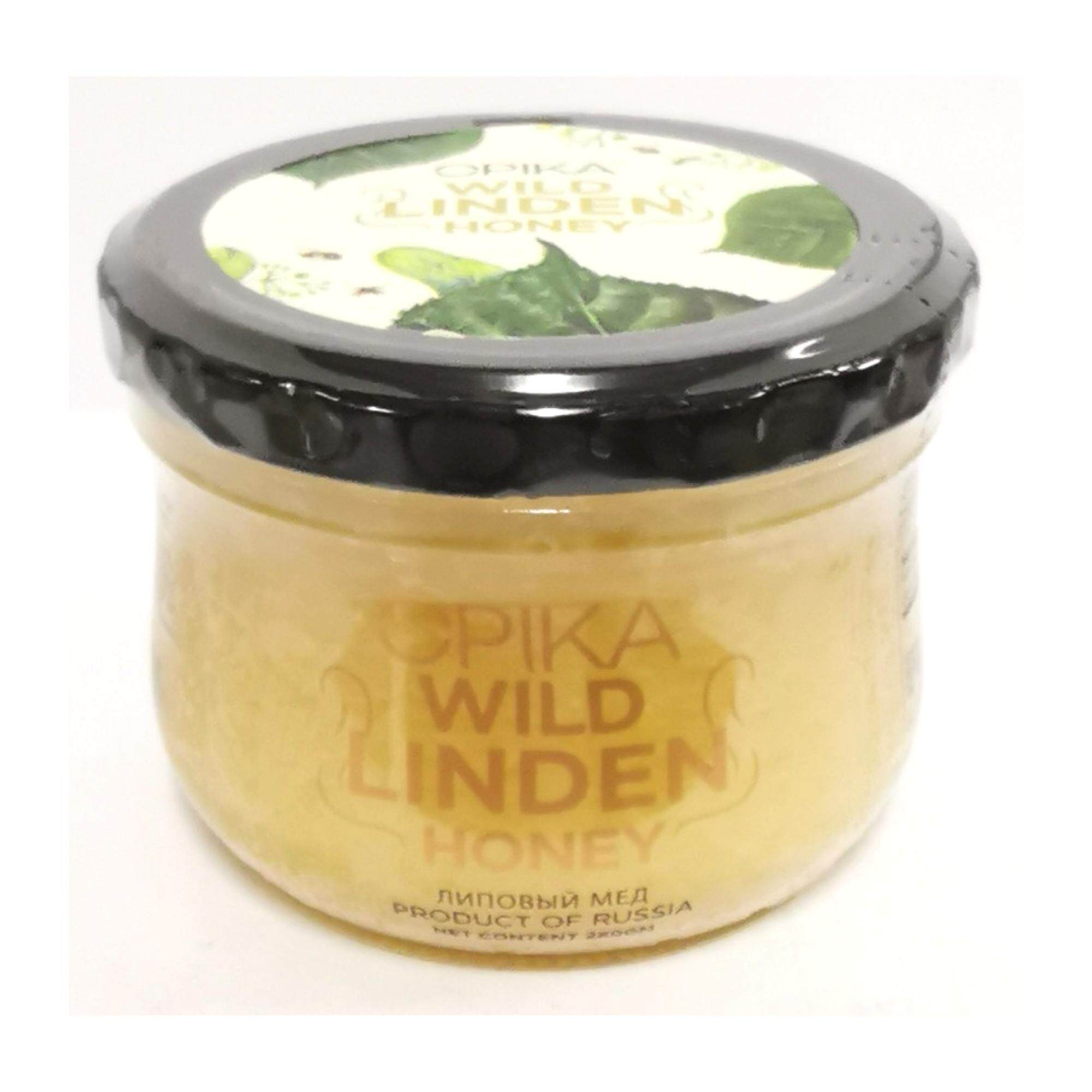 Opika White Russian Linden Honey - 280gm By Opika Organic Sdn Bhd.