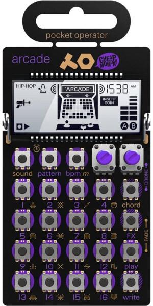 Teenage Engineering PO-20 Pocket Operator Arcade Synthesizer Malaysia