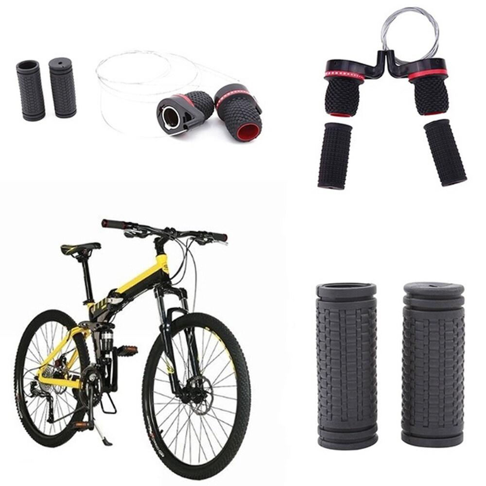 Gummi-Kunststoff-Hochleistungs-Mountainbike-Speed-Shifter-Fahrradumwerfergriff mit starkem Griff f/ür mehr Fahrrad MAGT Fahrrad-Speed-Shifter