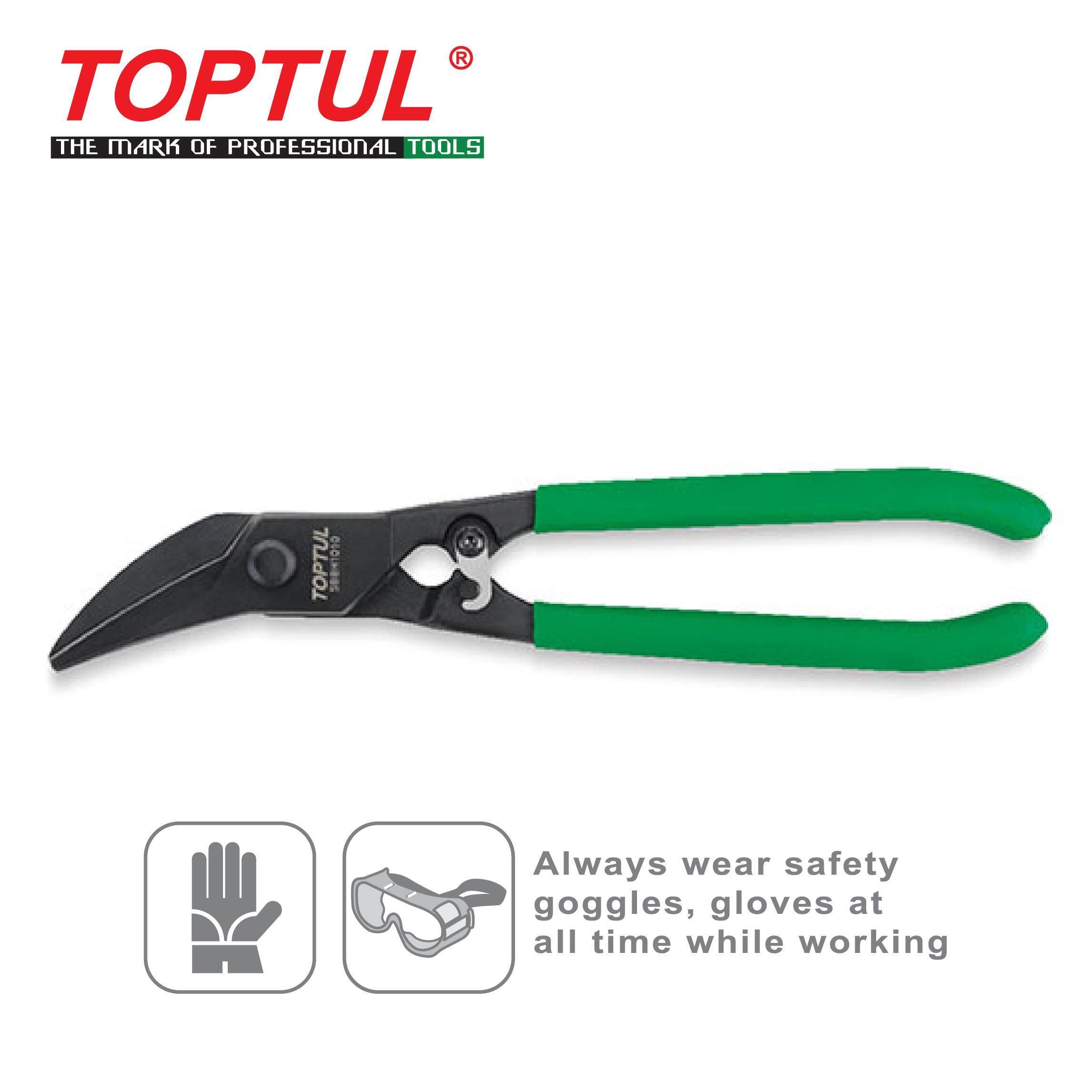 TOPTUL Universal Angled Tin Snips (SBBH1010)