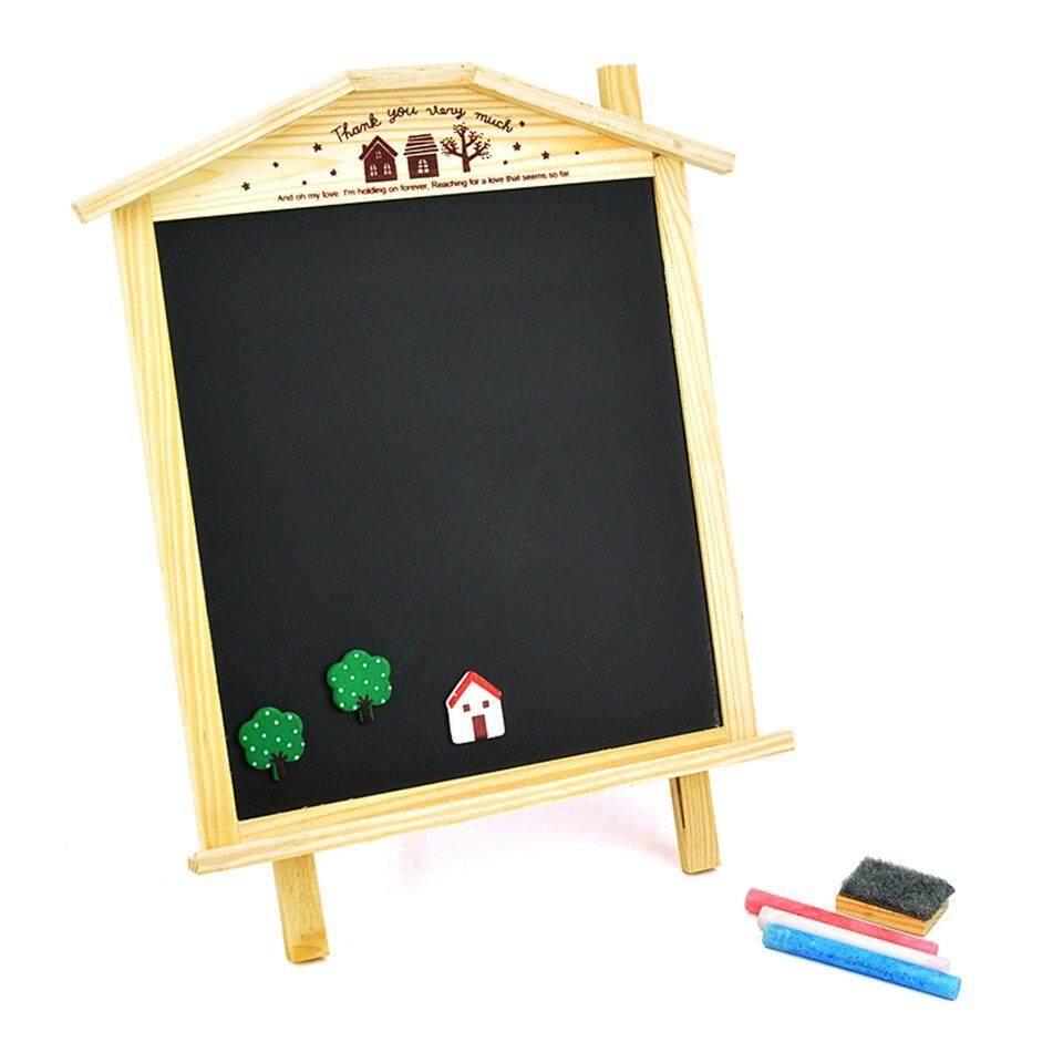 Mua Bán Chạy nhất Chalet có thể treo đôi bảng đen/Bảng thông báo (857964)