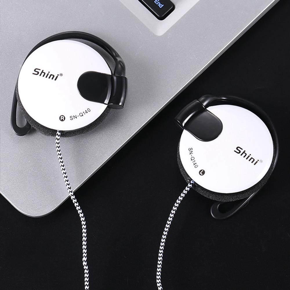 Chiants Q-140S Kabel Ringan Sentuhan Lembut 3.5 M Stereophone 1.2 M Headphone Slim Klip Pada Earphone dengan MIC untuk Apple, samsung, Huawei, Xiaomi, OppO, Telepon Seluler iPad