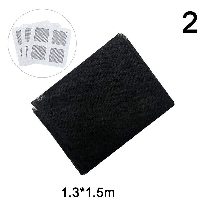 YL Anti Mosquito Window Self-adhesive Mosquito Net Flyscreen With Patch Stickers