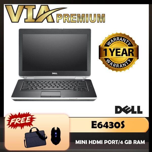 【MICRO HDMI】DELL LATITUDE E6430S CORE I5 (3rd Gen)~4GB DDR3~HDD / SSD~WINDOWS 10 Malaysia