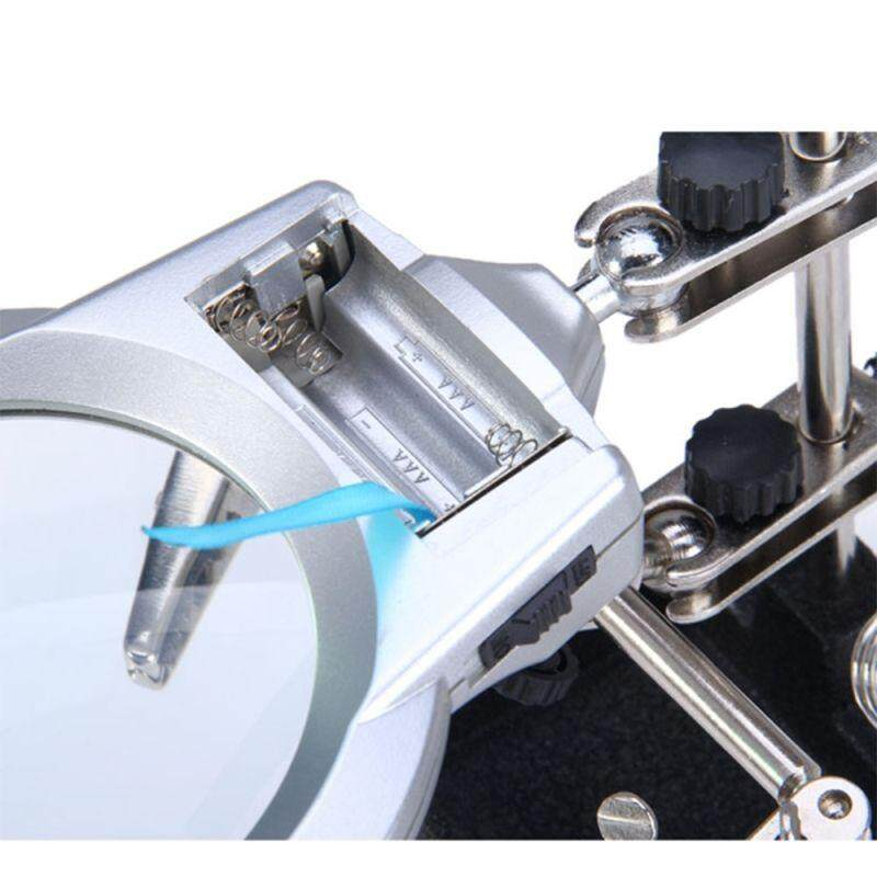MULTI-FUNCTIONAL WELDING MAGNIFYING GLASS ELECTRIC MACHINE SOLDERING IRON HOLDER TABLE MAG......
