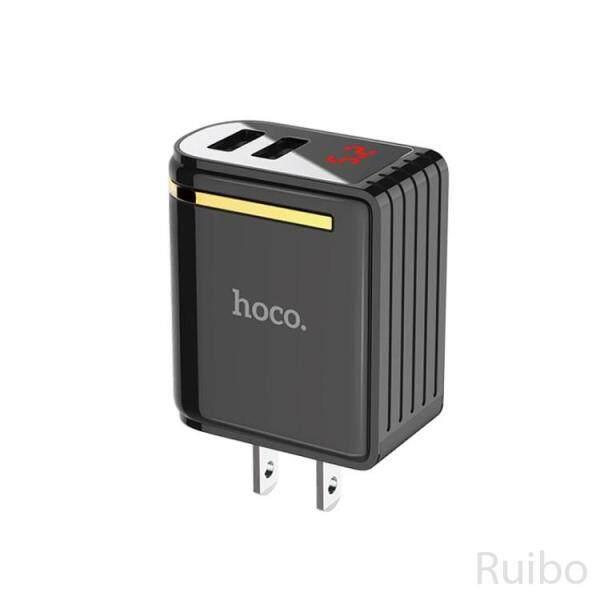 Ruibo HOCO Mê Hoặc C39 Cổng USB Kép Bộ Chuyển Đổi Sạc Tường Với Màn Hình Kỹ Thuật Số Cho iPhone iPad Samsung Sony