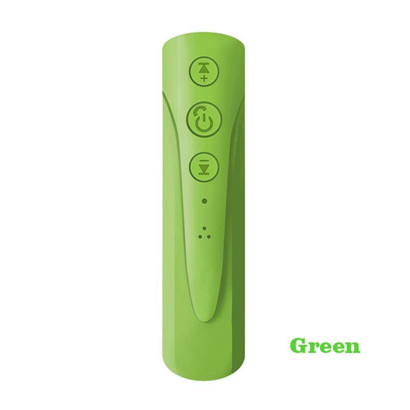 Car Wireless Bluetooth MP3 Music Player AUX Stereo Audio Adapter Receiver Handsfree Car Kit 3.5mm Jack Music Receiver Broadcast Green