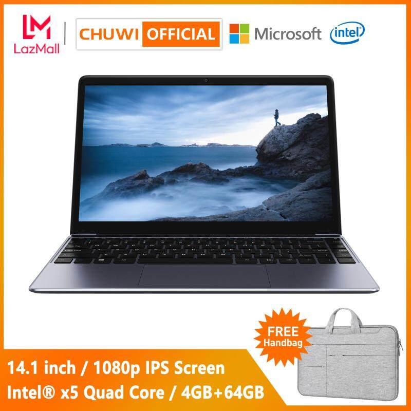 【CHUWI OFFICIAL】HeroBook Laptop / 14.1 Inch 1920*1080 IPS / Intel® x5 CPU / Genuine Windows 10 / Borderless Keyboard / 4GB+64GB / 1 Year Warranty Thin Notebook WiFi Computer PC