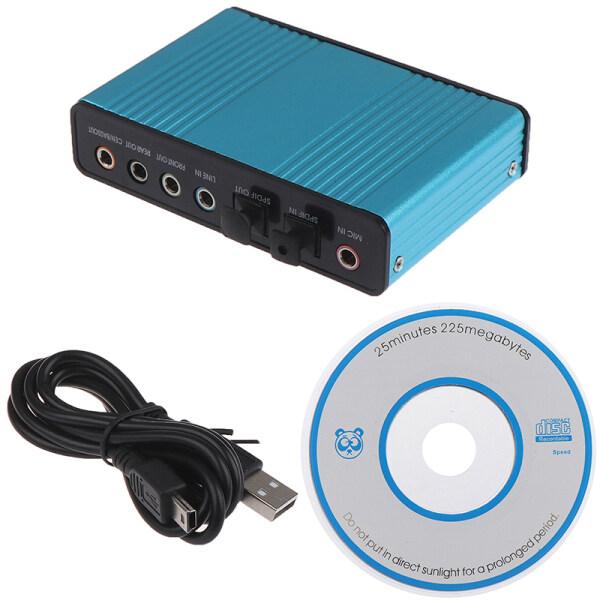 Bảng giá Jettingbuy Card Âm Thanh USB 6 Kênh 5.1 Quang Học Bên Ngoài Card Âm Thanh Cm6206 Chipset Phong Vũ