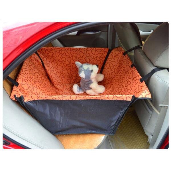 Túi Đựng Thú Cưng Cũi CAWAYI, Bọc Ghế Xe Hơi Cho Chó Mang Theo Thảm Cho Chó Mèo Võng Bảo Vệ Lưng Sau Transportin Perro