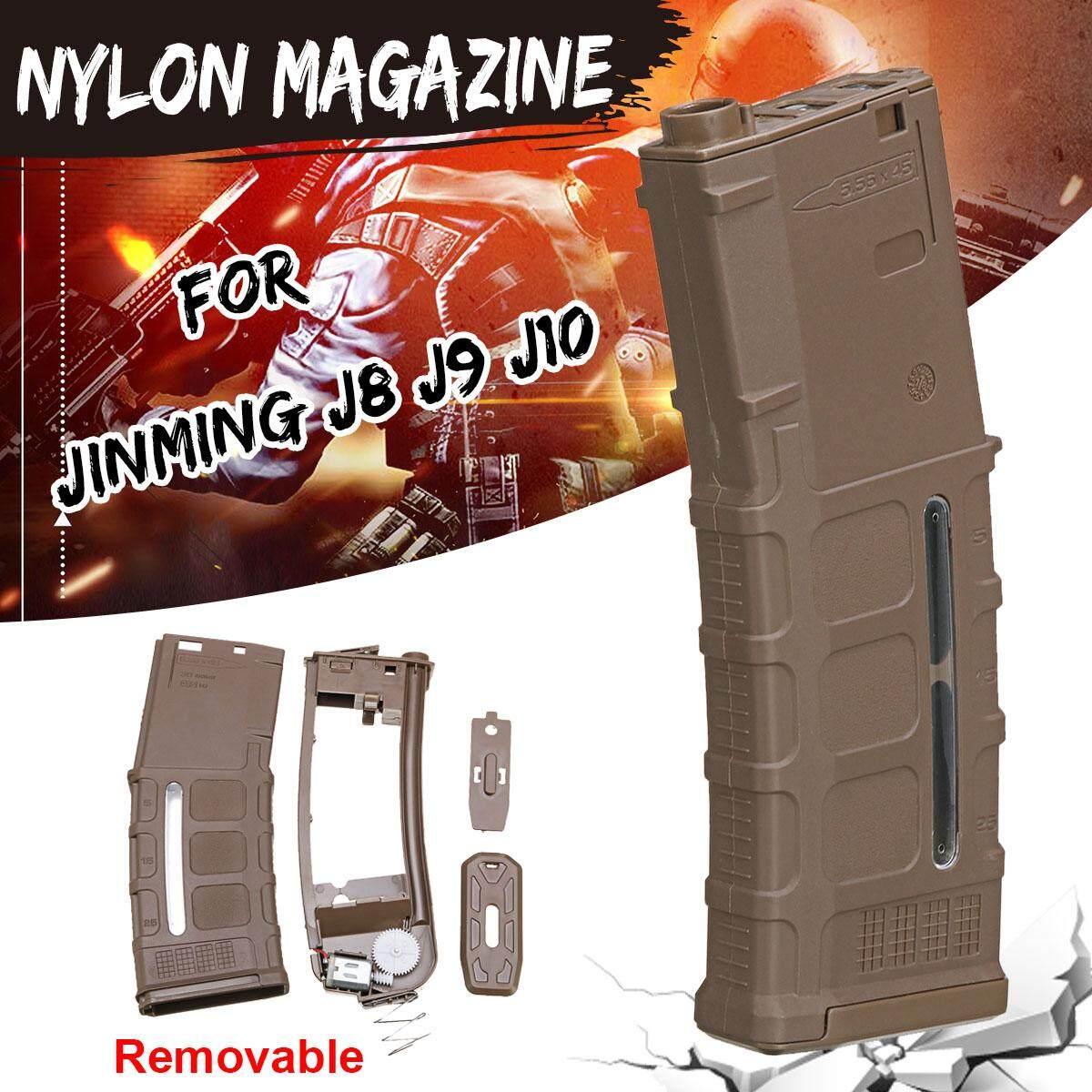 Upgrade Removable Nylon Magazine For Jinming Gen8 Gen9 Gen10 Gel Blaster Toy By Freebang.