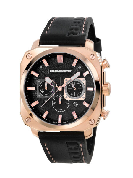 Hummer Chronograph Leather Strap Men Watch HM1015-1532 Malaysia