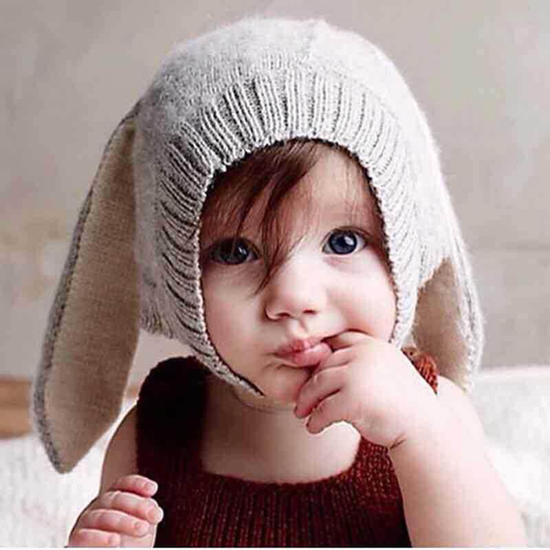 Aku Cinta Ayah Musim Dingin Musim Gugur Bayi Gadis Anak Laki-laki Rajutan  Topi Beanie 3dfacd446b