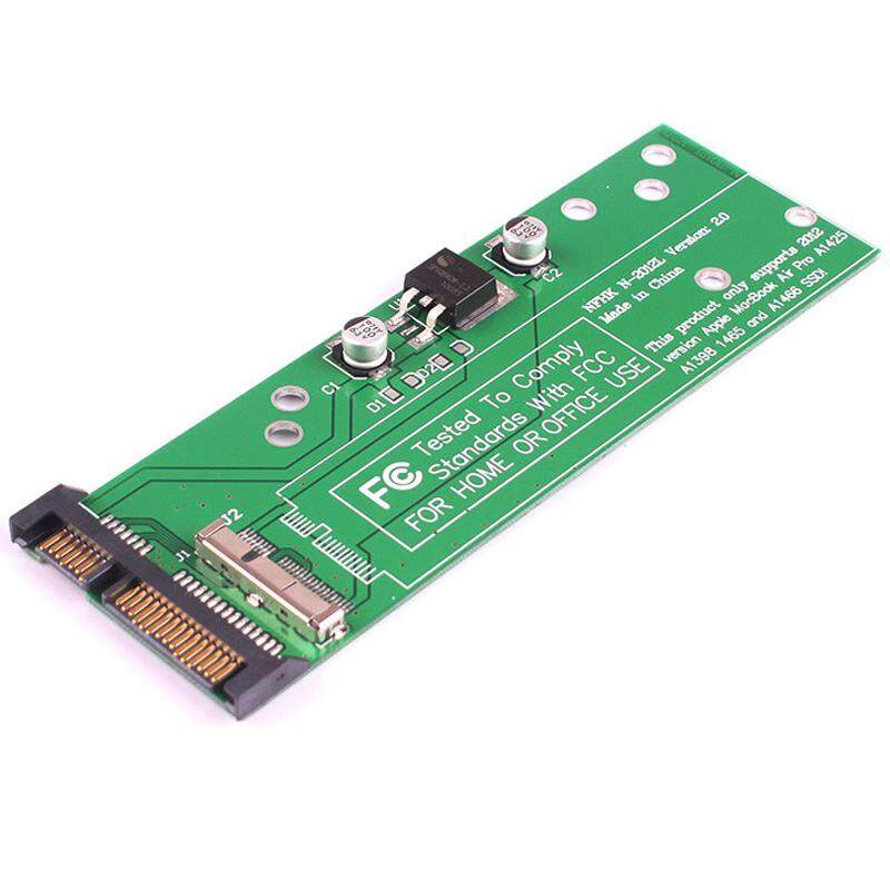 "For Macbook Air 2012 SSD slot adapter A1466 A1465 SSD 7+17 Pin slot to 2.5"" SATA 3.0 6Gb/s Card"