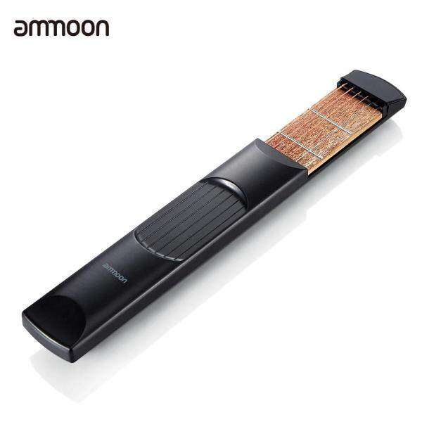 ammoon Portable Pocket Acoustic Guitar Practice Tool Gadget Chord Trainer 6 String 6 Fret Model for Beginner Malaysia