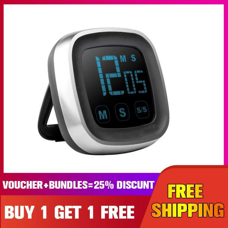 Lcd Digital Kitchen Timer Cooking Count-Down Up Clock Loud Alarm Touchscreen【buy 1 Get 1 Free】 By Five Star Store