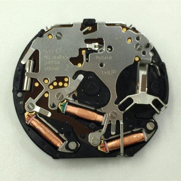 Watch movement accessories new original Japanese VD55 quartz movement six pin 6912 seconds movement without battery Malaysia