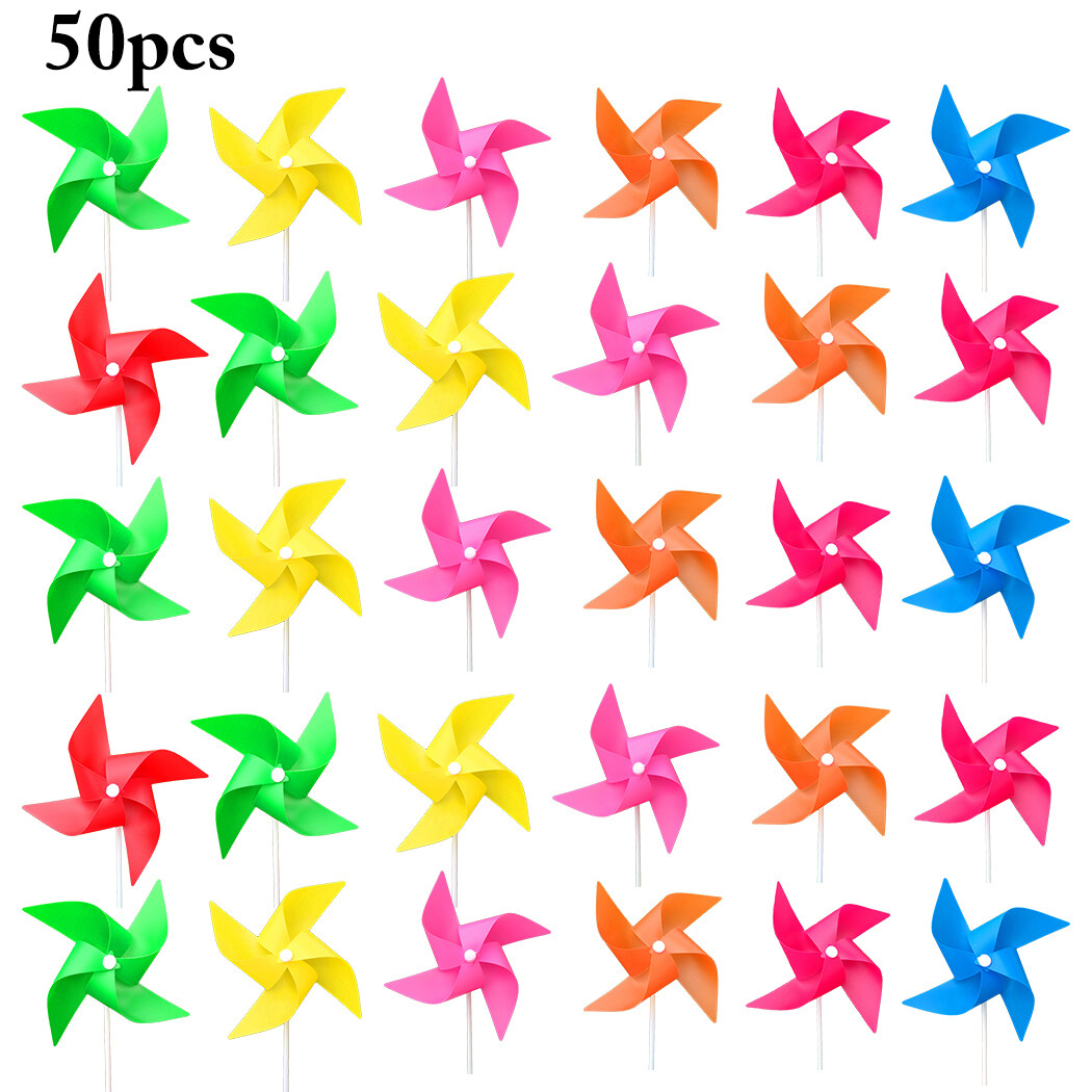 Wind Spinner Colorful Windmill Kids Toy