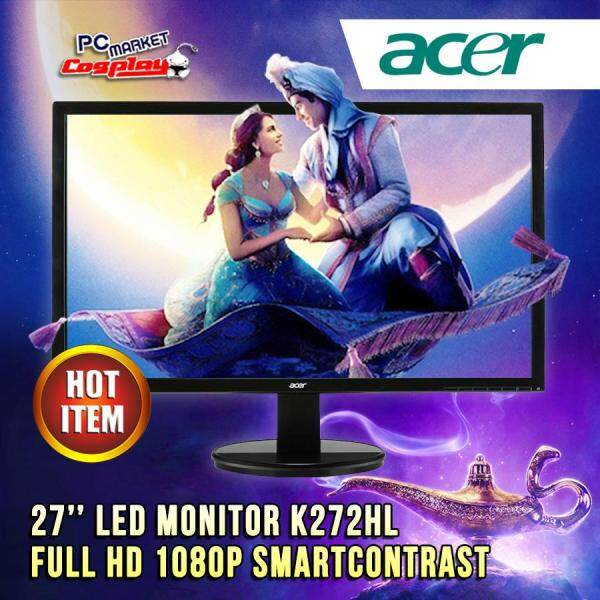 Acer K272HL 27 inch LED Widescreen Display Monitor Full HD 1080P (Refurbished) Malaysia
