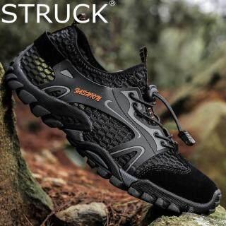 STRUCK Giày Đi Bộ Đường Dài Ngoài Trời Cho Nam Giày Chạy Bộ Thoáng Khí Chống Trượt Giày Thể Thao Cỡ Lớn Giày Đi Nước thumbnail