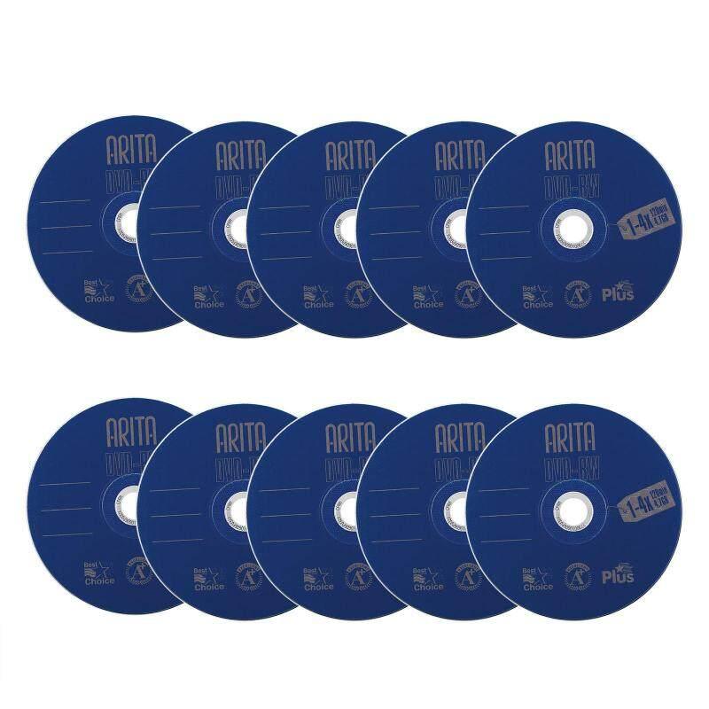 10pcs DVD-RW 4.7GB 120min Rewritable 4X Blank Disc Digital Media Data Recordable