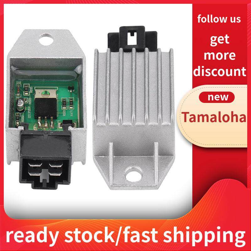 Tamaloha【biggest discount+lowest price】Universal Motorcycle Motor Bike 12V  Voltage Regulator Rectifier 4 pin