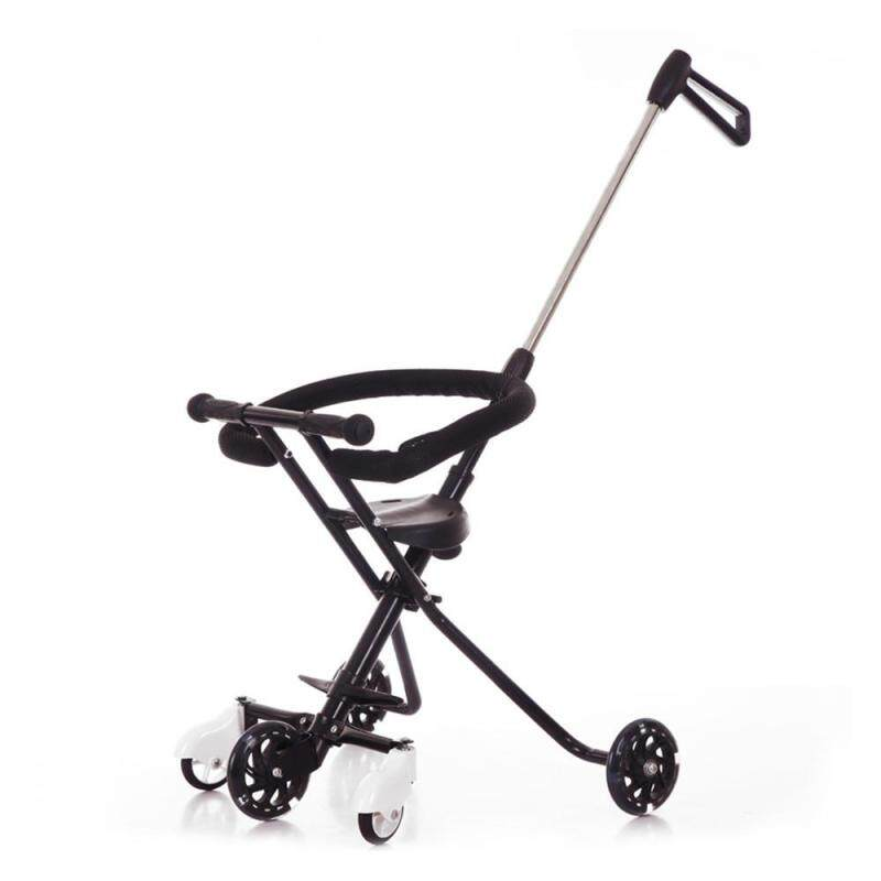 LightSmile Baby 5 Wheels Trolley Childrens Folding Portable Carts Ultra-light Aluminum Kids Bike Tricycle Stroller Singapore
