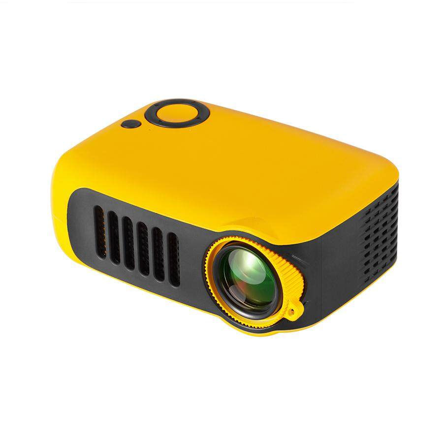 【FREE Shipping】(Built-in HIFI Stereo Speaker) 2019 NEW Multi-ports Portable 1080P Mini Projector HDMI USB Best Gift For Home Theater Office Travel Camping