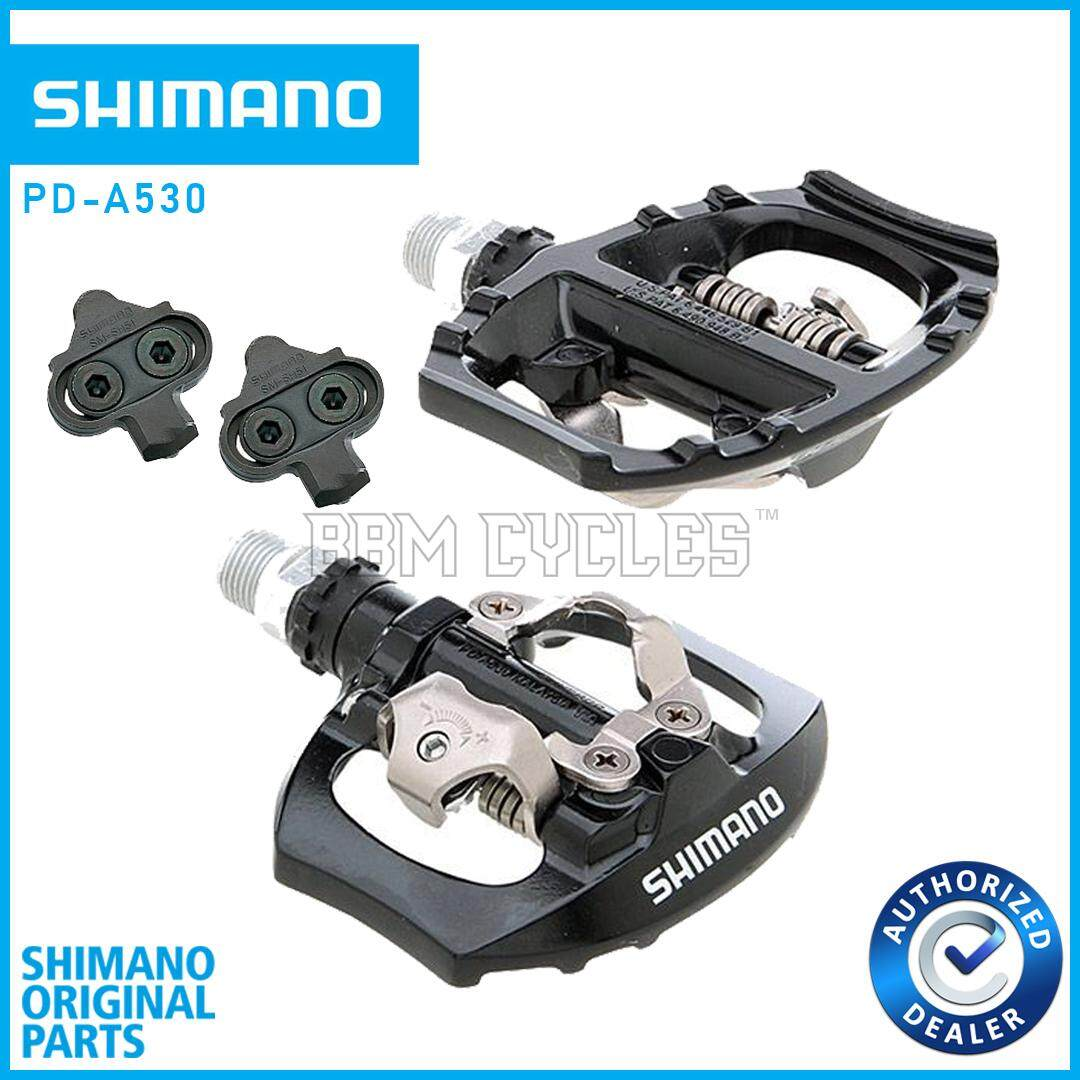SHIMANO PD-A530 SPD PEDALS DUAL PLATFORM BICYCLE PEDAL DUAL FUNCTION