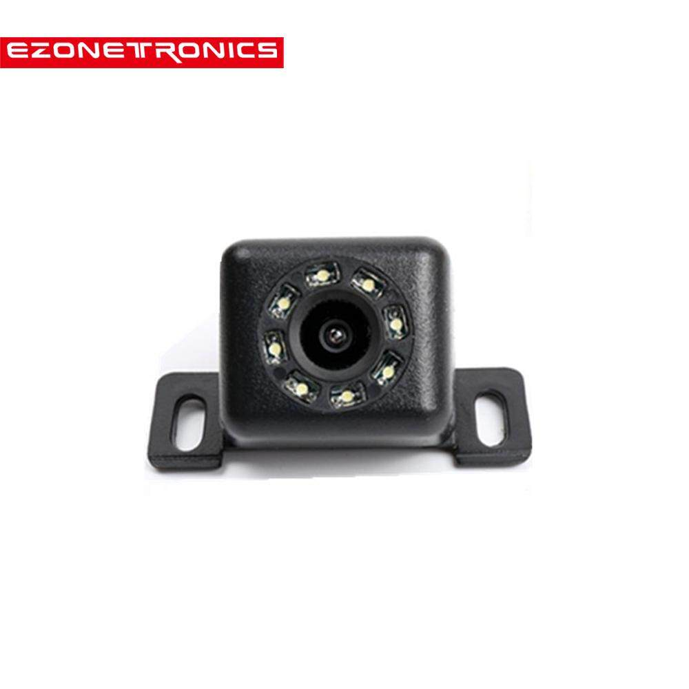 Ezonetronics Car Rear View Camera Waterproof Hd Ccd 8 Led Night Vision 170 Wide Angle Universal Car Backup Parking Camera——rm-Zl-518l By Ezonetronics Store.