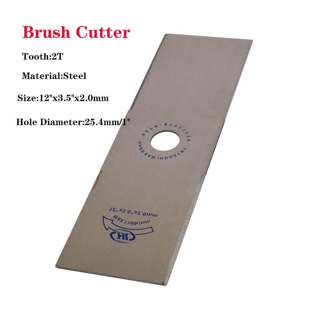 LP 2 Tooth Metal Strimmer Brush Cutter Blade Home Garden Grass Repair Tool 1 Bore
