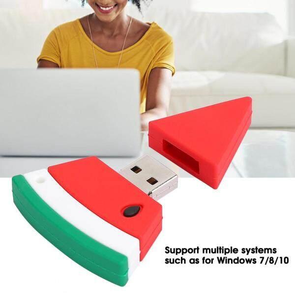 Cartoon U Disk PVC Small USB Watermelon Pattern Flash Pen Drive Cute Memory Stick 32G