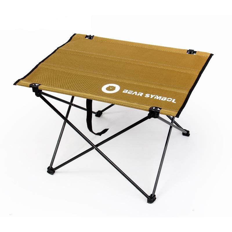 Outdoor Table Portable Foldable Table Outdoor Camping Table Aluminum Alloy Picnic Table By Olive Al Home