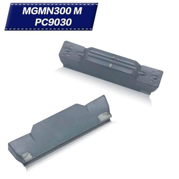 20 CHIẾC MGMN300 M PC9030 Grooving Carbide Miếng Kim Loại Dụng Cụ Quay Rau Dụng Cụ Xoay Tiện Dụng Cụ Cắt CNC Dụng Cụ Mài Dao Tiện dao cắt