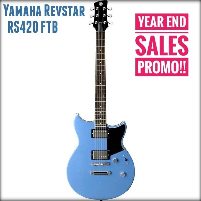 Yamaha Revstar RS420 Electric Guitar (RS 420 / RS-420) BLACK/BLUE Malaysia