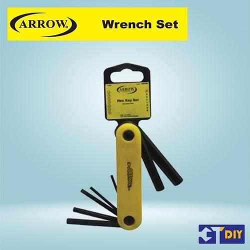 Arrow 7pcs Fold Hex Key Wrench Set