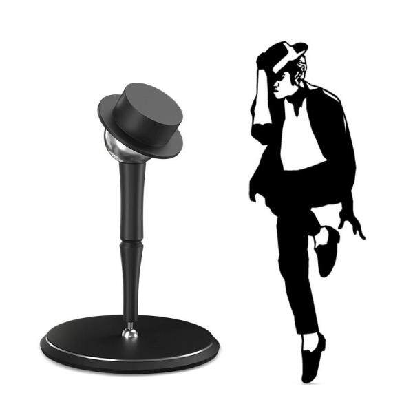 Rotatable Aluminum Alloy Magnetic Holder for Phone Tablet Dest-Top Phone Holder Stand