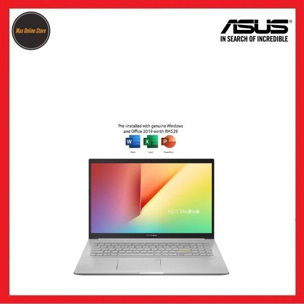 Asus VivoBook 15 K513E-ABN766TS 15.6 FHD Laptop Transparent Silver ( I5-1135G7, 8GB, 512GB SSD, Iris Xe, W10, HS ) Malaysia