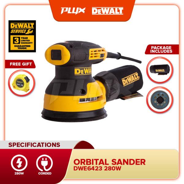 DEWALT DWE6423-B1 280W 5  / 125mm Orbital Sander (DWE6423)