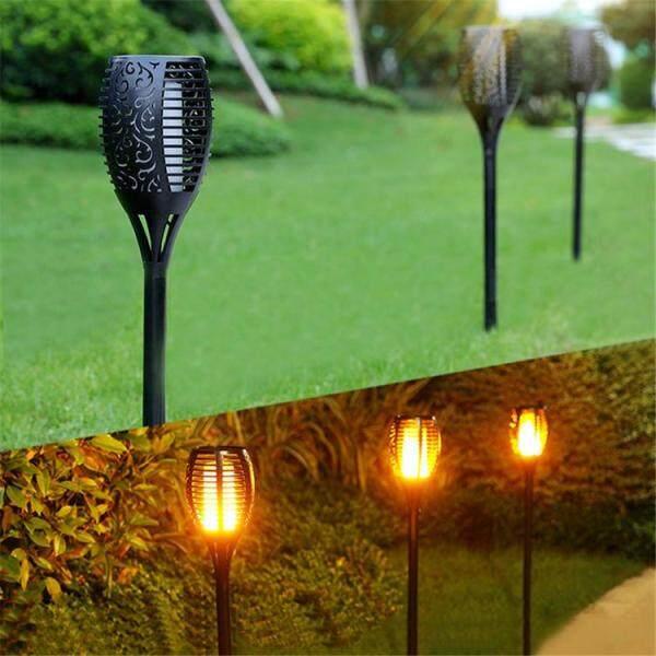 1 Chiếc Đèn Sân Vườn Ngoài Trời 51 Đèn LED Năng Lượng Mặt Trời, Đèn LED Cảm Ứng Ngoài Trời Hình Ngọn Đuốc Đèn Chèn Thảm Cỏ Trang Trí Sân Vườn Đèn Bãi Cỏ