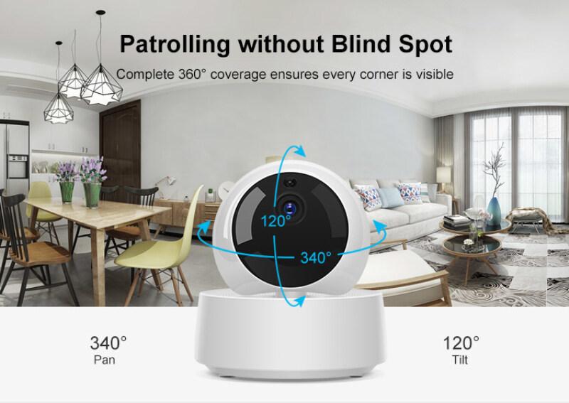 Laztech【còn Hàng】GK-200MP2-B Sonoff Camera Wifi Mini HD 1080P, Camera IP Không Dây Thông Minh, Thiết Bị Theo Dõi Bé Nhìn Đêm IR 360 Giám Sát Cam