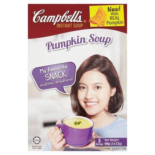 Campbell's Pumpkin Instant Soup 3 x 22g (66g)