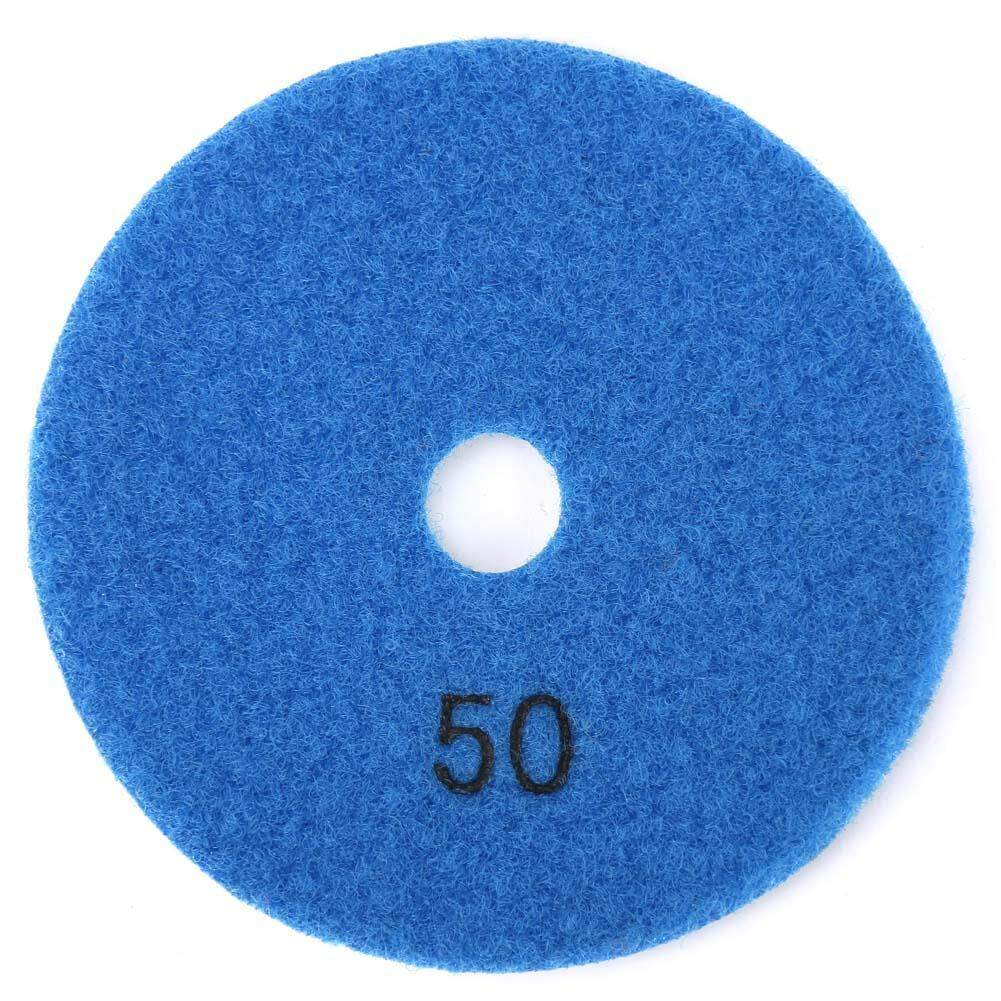 【Surprise Price】4inch Round Diamond Polishing Pad Granite Marble Grinding Disc Wet Polisher Tool