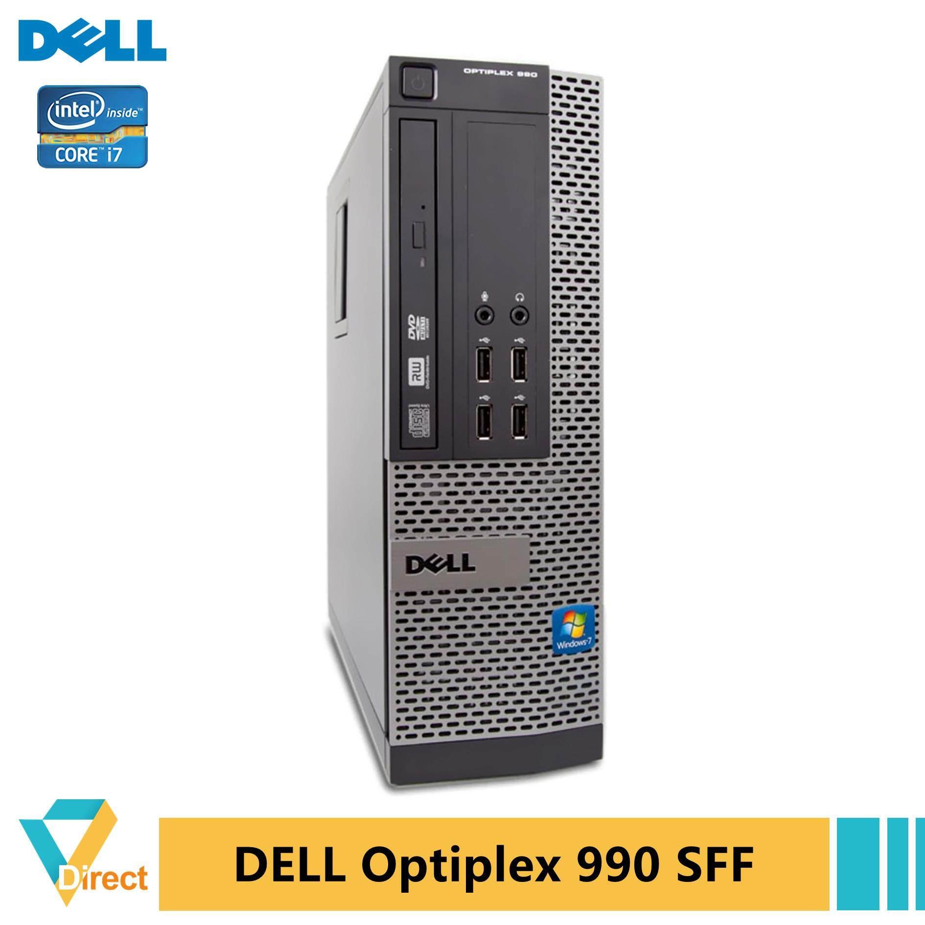 Core i7 8GB 240GB SSD Dell Optiplex 790 990 SFF desktop PC