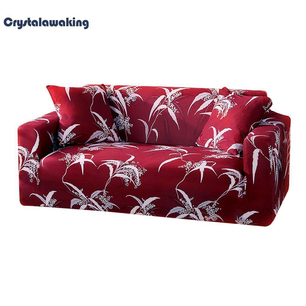 New Arrival Elegant Flowers Stretch Tight Wrap Slipcover All-Inclusive Sofa Couch Cover