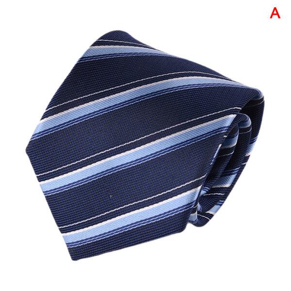 Shinning Ngày Sọc Cổ Điển Cà Vạt Mens Cà Vạt Bằng Lụa Cà Vạt Dệt Hoa Đám Cưới