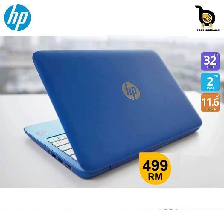 HP Stream Notebook, Intel Celeron N2840 Processor, 2GB RAM, 32GB SSD, 11 Inch HD LED Screen Malaysia