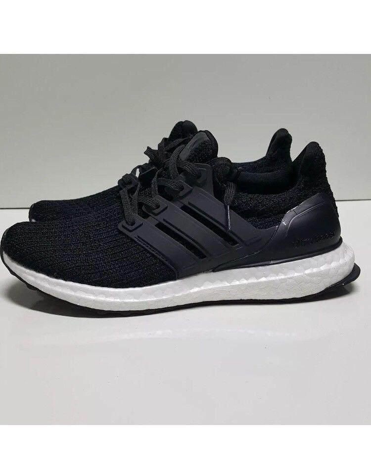 reputable site f9141 21019 Adidas Original Ultra Boost 4.0 Core Black Men s BB6166 Runner Shoes