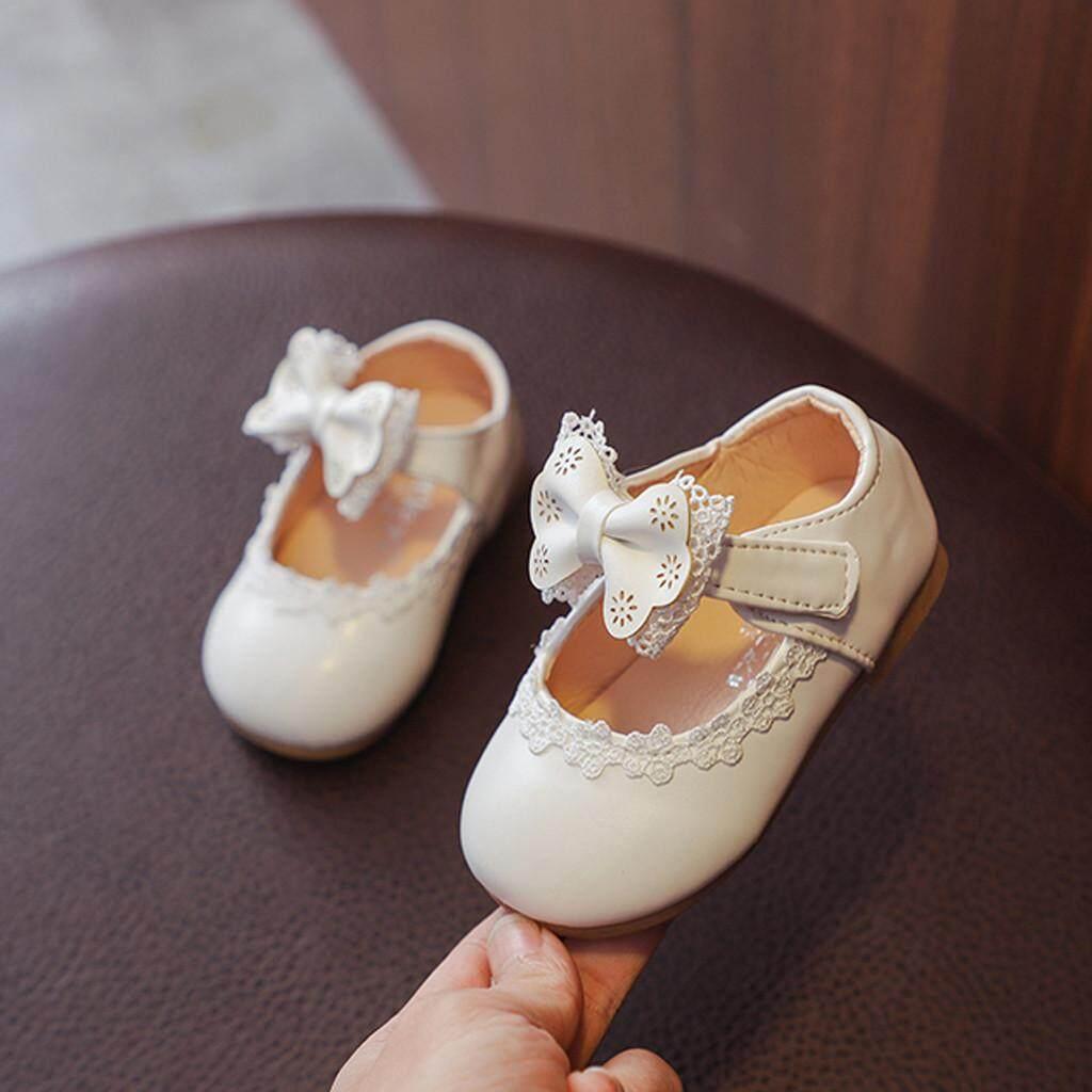 Lion Toddler Infant Kids Baby Girls BowKnot Single Princess prewalker Shoes Sandals